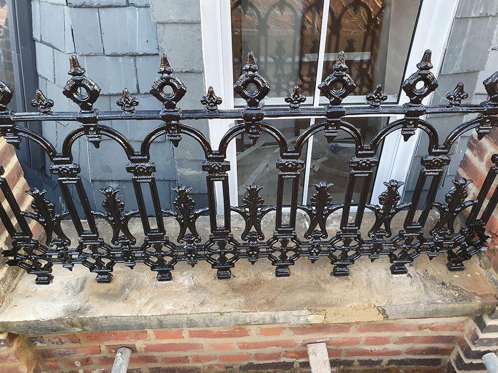 Cast Iron Railing London HA8